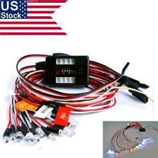 Us Led Light Kit Brake+Headlight+Signal 2.4ghz Ppm Fm For Hsp Rc 1/10 Model Car