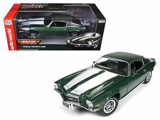 AUTO WORLD 1:18 AMERICAN MUSCLE 1970 CHEVROLET CAMARO Z28 CORVETTE NATIONALS CAR