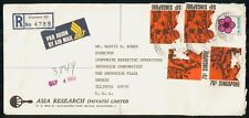 Mayfairstamps SINGAPORE AD 1967 COVER ASIA RESEARCH LTD wwk43881