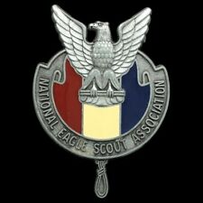 Vtg National Eagle Scout Association NESA BSA Boy Scouts America Belt Buckle