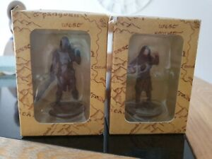 Lord Of The Rings TWO Boxed Figures New Line Cinema.