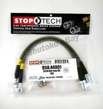 Stoptech Stainless Steel Front Brake Lines For 98-05 Lexus Gs300 / Gs400 / Gs430