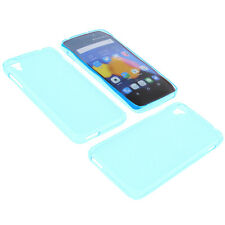 Custodia per Alcatel One Touch Idol 3 4.7 Custodia Cellulare TPU GOMMA Blu