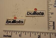 TWO Old 1989 Limited Edition NBA Basketball Pins - Washington BULLETS