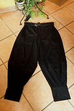 BORIS INDUSTRIES  Ballon Hose Gr. 42 (2) NEU LAGENLOOK schwarz Stretch Baumwolle