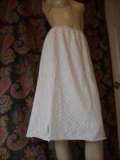 Vintage Philmaid Lace Over-Lay Silky Nylon Half Slip Lingerie L