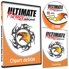 Flames Clipart Vinyl Cutter Plotter Images Vector Clip Art Graphics Cd