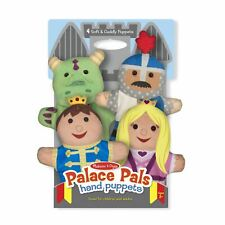 Childrens Melissa & Doug Palace Pals Hand Puppets Play Toy Age 2+