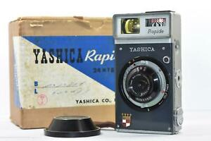 Yashica Rapide 35mm Half Frame Camera w/ Yashinon 28mm f2.8 w/box collection