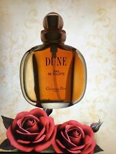CHRISTIAN DIOR DUNE Vintage  year 1995 edt  SPRAY 30 ml left women perfume