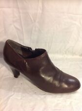 Jones Boot Maker Brown Ankle Leather Boots Size 39
