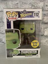Funko Pop! monstruos Frankenstein #112 Exclusivo Brilla En La Oscuridad