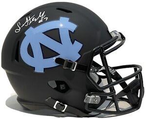 Sam Howell Signed Autographed UNC North Carolina Tar Heels Custom F/S Helmet JSA