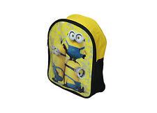 Infantil/Infantil Minions Mochila (Amarillo) Ideal Para Escuela