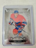 SAKU KOIVU 2020-21 UPPER DECK ARTIFACTS  SILVER 207/499 MONTREAL CANADIENS