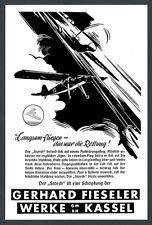 La pubblicità Fieseler Storch lentamente volo Engl. cacciatore AVIAZIONE Kassel Lohfelden 1942