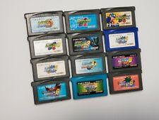 Game Boy Advance Rock Mega Man EXE 1 2 3 4 5 6 Japan GBA 12 game lots US Seller