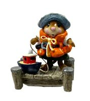 "Wee Forest Folk ""Ahoy!"" M310, Retired 2007, Mint, Orange life-vest, With Box"