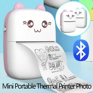 Portable Mini Thermal Printer Photo Pocket Photo Printer Phone Wireless Printing