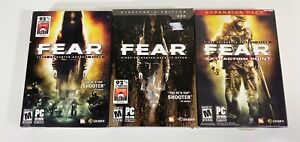 F.E.A.R.: First Encounter Assault Recon (PC), Directors Edition & Expansion Pack