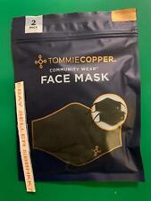 Tommie Copper Face Mask Unisex 2 Pack Copper & Zinc Infused (7289) Free Shipp