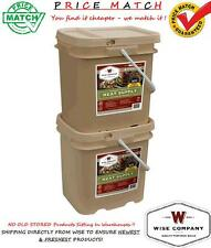WISE Food ~ 120 Serving Survival Freeze Dried Meals MEAT Bucket + FREE RICE