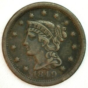 1849 One Cent For Sale Ebay