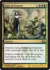 Dragon's Maze ~ GAZE OF GRANITE rare Magic the Gathering card