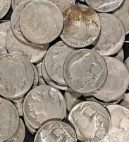 Buffalo Nickel Bison Black Diamond LOT OF 40 Coins Obsolete Old US Type