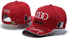Audi Logo Hat Brand New Baseball Cap Outdoors Adjustable Strap