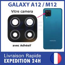 For Samsung Galaxy A12 A125 / M12 M127 rear back camera lens cover glass lente