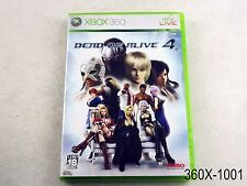Dead or Alive 4 Xbox 360 Japanese Import Xbox360 Japan JP US Seller B