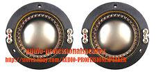 2PCS Replacement Diaphragm Fit For JBL 2425J, 2426J, 2427J, 2420J 16Ohm D16R242