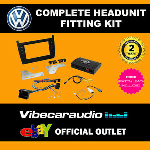 CTKVW14 VW Polo 6R 2014 Onward Stereo Double Din Stereo Fascia Stalk Fitting Kit