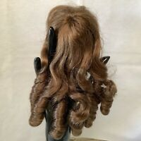 Hand Styled Doll Wig Global Dolls Carlotta 11-12 Light Brown NOS Modacrylic