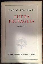 TUTTA FRUSAGLIA - FABIO TOMBARI