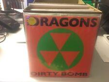 "The Dragons Dirty Bomb 7"" 45 rpm Gearhead 2004 ORANGE WAX BRAND NEW"