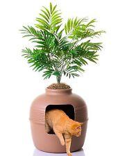Good Pet Stuff Hidden Pet Kitten Cat Litter Box Plant, Brown, FREE SHIPPING, NEW