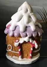 Fairy Garden Miniature Gingerbread House