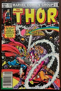 THOR #322  The Wrath and the Power  1982  NM