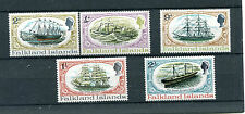 Falkland Islands 1970 Nave 186-90  MNH
