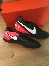 Nike Tiempo X Rio Astro Turf Football Boots Size 9.5 Adults BNIB Black & Orange