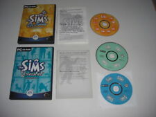 The Sims - ON HOLIDAY + UNLEASHED Pc Cd Rom 2 x Sims 1 Add-On Expansion Packs