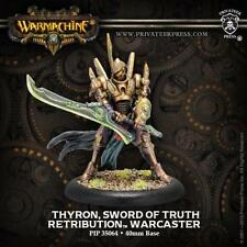 Warmachine Retribution of Scyrah Thyron Sword of Truth PIP 35064 NEW