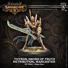 Warmachine Retribution of Scyrah Thyron Sword of Truth PIP 35064 NEW
