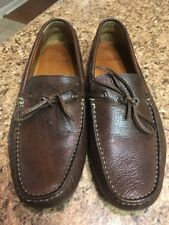 CLARKS Men's Size 11 M Dark Brown Leather Slip-Ons Comfy Casual Loafers 26068660