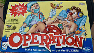 Operation Game Replacement Parts & Pieces 2013 Funatomy Hasbro