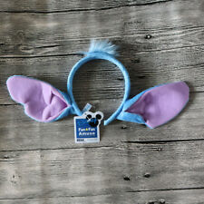 1Disney Lilo And Stitch Ears Costume Plush Hair Headband Birthday Gift Party