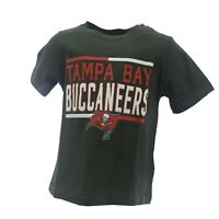 Tampa Bay Buccaneers Official NFL Apparel Infant Toddler Size T-Shirt New W Tags