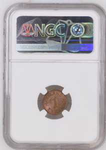 ICELAND 1 EYRIR 1940 KM # 5.2 NGC MS 64 RB ONLY ONE IN HIGHER GRADE